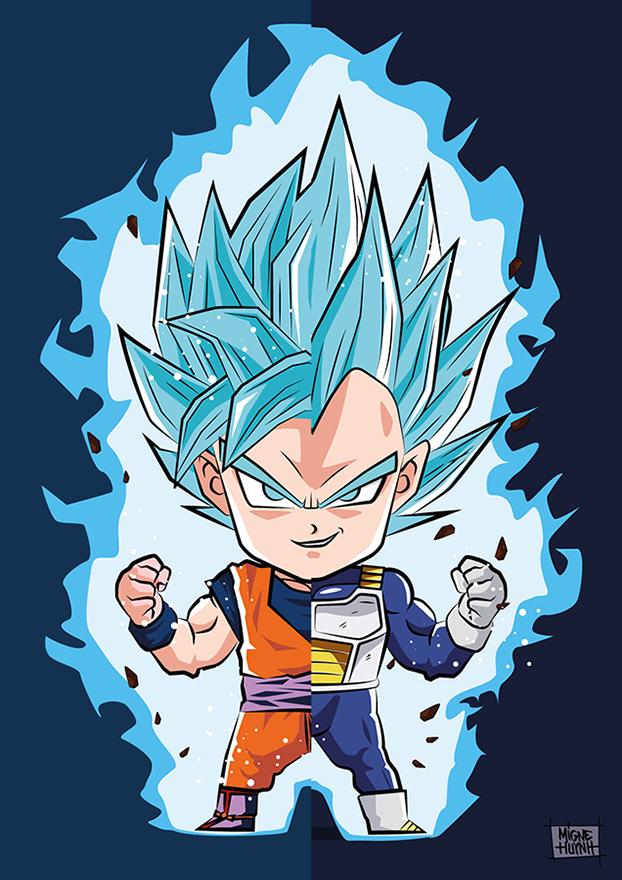 Son Goku Vs Vegeta Origamigne Shop