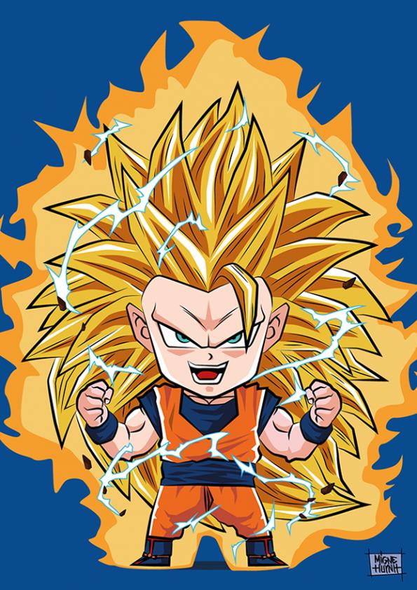 Goku Super Saiyan 3 Chibi