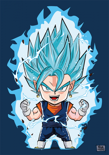 Vegeto Blue