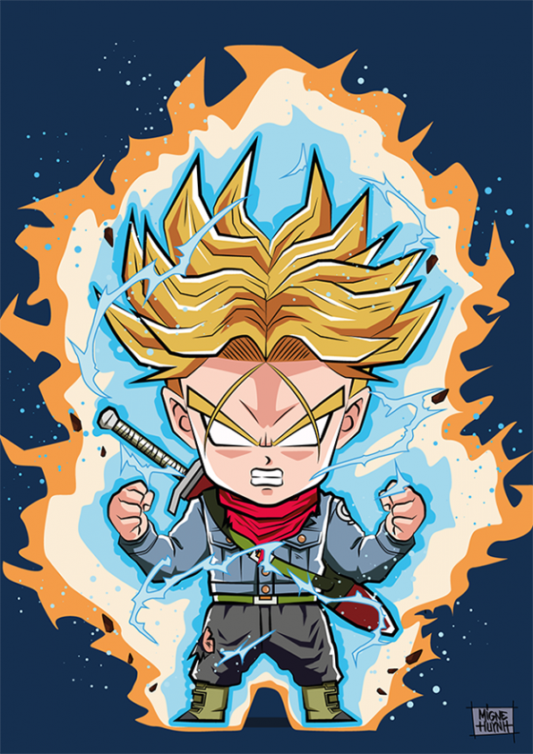 Trunks Ikari Chibi