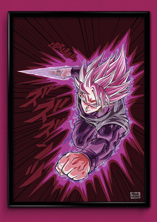 Black Goku Rose