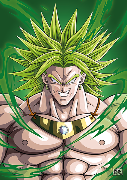 Broly - Dragon ball z broly le super guerrier vf ...