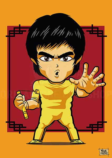 Bruce Lee Chibi