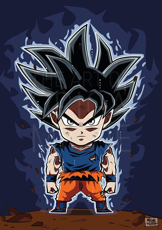 Goku Ultra Instinct Chibi