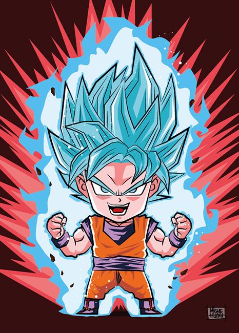 Goku Kaioken Chibi
