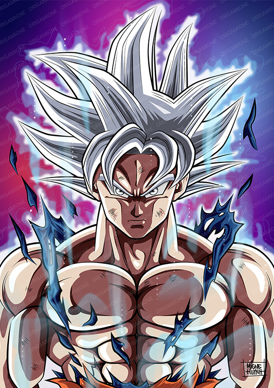 Goku Ultra Instinct Mastered - Origamigne Shop