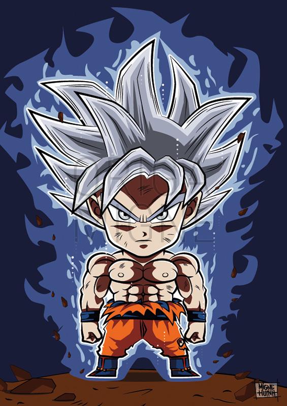Goku Ultra Instinct Maitrisé Chibi