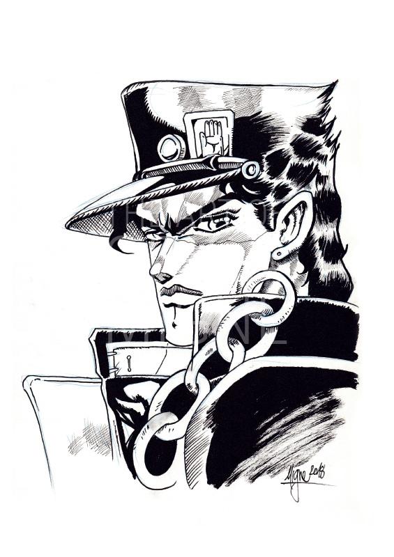 Dessin Jotaro Kujo