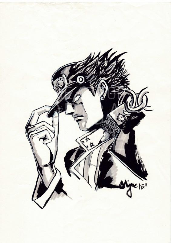 Jotaro Kujo illustration 2