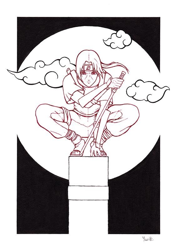 Illustration Itachi