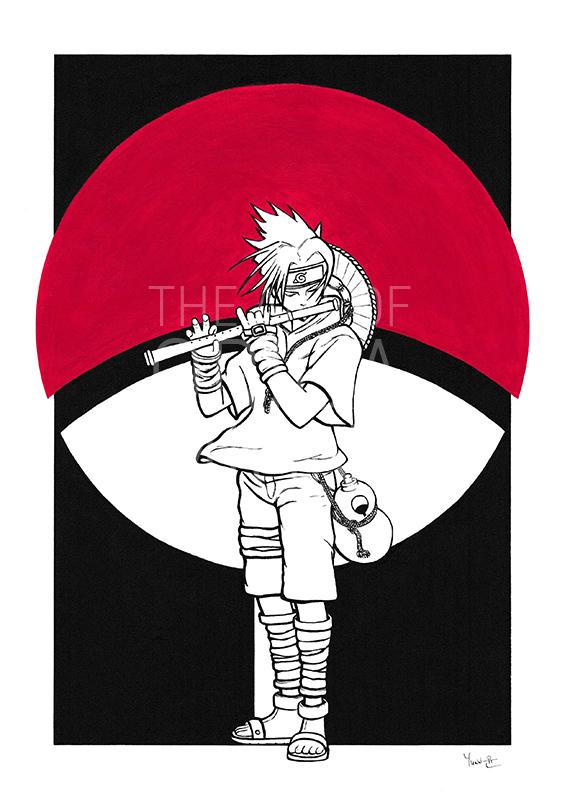 Dessin Sasuke