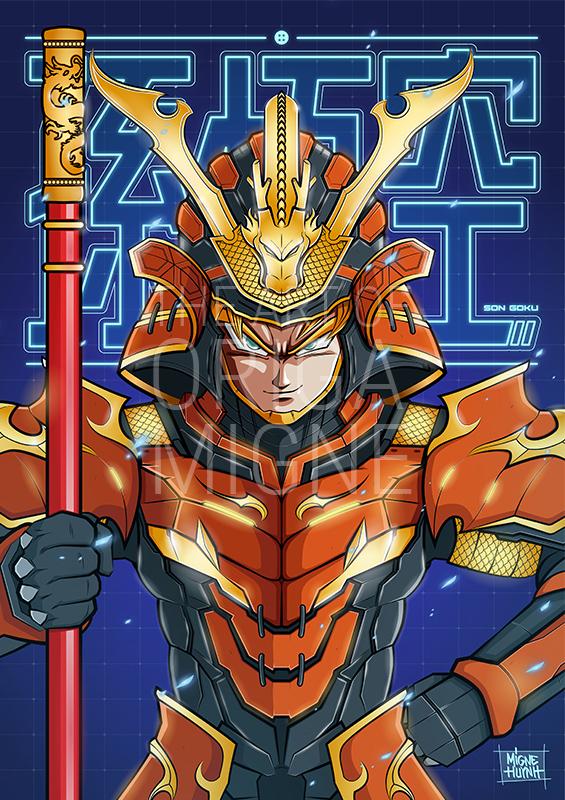 Goku Samuraï