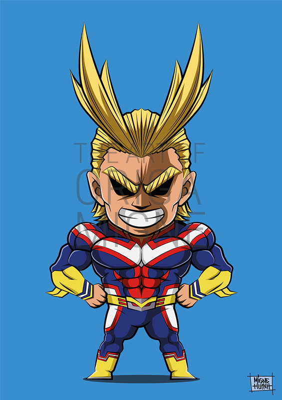 All Might Chibi